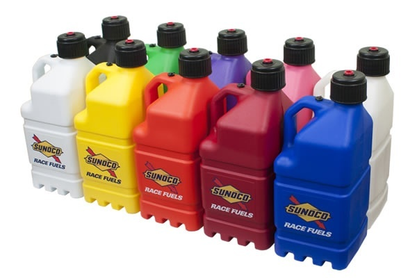 5 Gallon Product Containers Sunoco Race Jugs